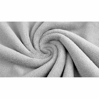 Tissu  Éponge de Bambou  gris