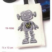 Pochette pour portable  robot  19-1696  Permin