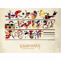 Succession de composition de W Kandinsky  0080PT  Riolis