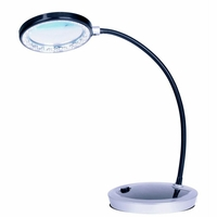 Lampe-loupe à LED de table deluxe  CFPL10E  PURElite