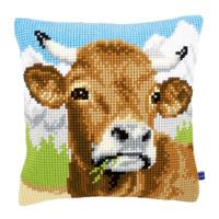 Coussin à broder Vache dans les Alpes - Vervaco PN-0148000