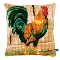 Coussin à broder Coq fier - Vervaco PN-0148108