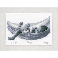 Bébé en hamac - Tableau de Naissance - Vervaco PN-0150906