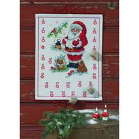 Calendrier de l Avent Père Noël chantant - Permin of Copenhagen 34-4245