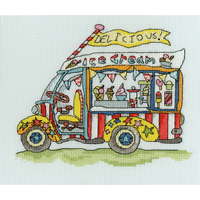 Sew Dinky Ice Cream Van - Bothy Threads - Code Bothy-XSD3
