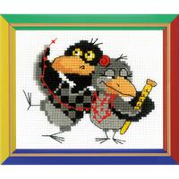 Deux corbeaux - RIOLIS  HB153 -