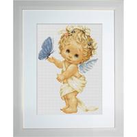Angelot avec un papillon - Luca-S B368