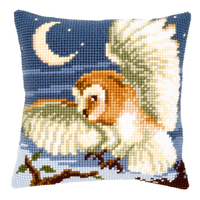 Coussin à broder Hibou chassant - Vervaco PN-0021845