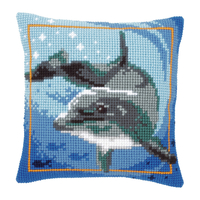 Coussin à broder Dauphin - Vervaco PN-0021528