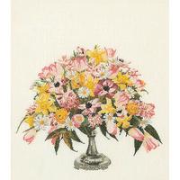 Bouquet printanier - Kit Aïda - Thea Gouverneur 1084A