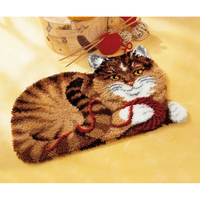 Chat - Tapis au point noué - Vervaco PN-0014343