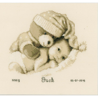 Bébé avec nounours  0155574  Vervaco