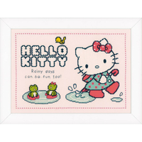 Hello Kitty sous la pluie  0151913  Vervaco