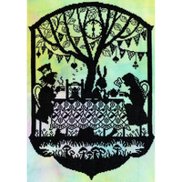 Mad Hatter's tea party - Bothy Threads - XFT5
