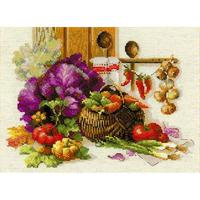 Panier de légumes  - Riolis 1544