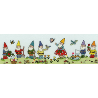 Bothy Threads  XRO10  Row of Garden Gnomes