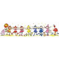 Bothy Threads  XRO1  Row of Fairies