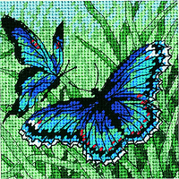 Dimensions  7183  Duo de papillons