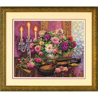 Dimensions  35185  Fleurs romantiques