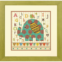 Baby Elephant ABC - Dimensions - Code D70-73988