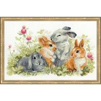 Riolis  1416  Funny  Rabbits
