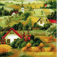 Riolis  1569  Paysage serbe