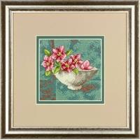 Dimensions  71-07237  Fleurs de cornouiller  kit canevas