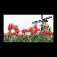 Thea Gouverneur 473  Champs de tulipes  Lin
