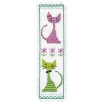 Chat rose et vert  0148532  Vervaco