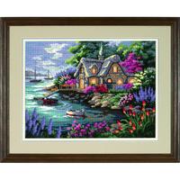 Cottage de Campagne - Dimensions - Kit Canevas - Code D12155