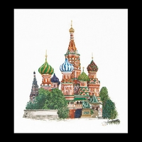 Thea Gouverneur  513A  Cathédrale  St. Basile  Moscou  Aïda