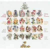 Thea Gouverneur  2025  Alphabet floral  Lin