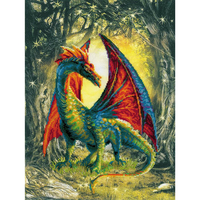 RIOLIS  0057PT  Dragon de Forêt