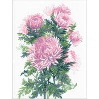 RIOLIS  1595  Bouquet de Chrysanthèmes