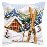 VERVACO  0021868  Coussin  Plaisir de la neige
