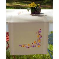 VERVACO  0156933  Chemin de table  Fleurs ludiques