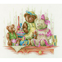 BRODERIE  LANARTE  0168381  FAMILLES OURSONS