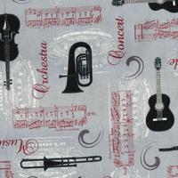 Tissu instrument de musique  4507 541