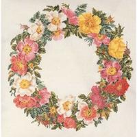 Broderie  Couronne de fleurs  2073  Thea Gouverneur