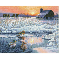 Un matin en hiver  70-35304  Dimensions