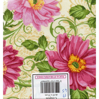 Coupon  patchwork  A45  fleurs