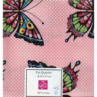 Papillons  coupon  patchwork  A50