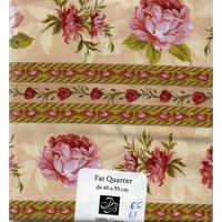Fleurs  coupon  patchwork A53