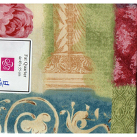 Fleurs  coupon  patchwork  A54