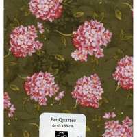 Patchwork  coupon  fleurs  A73
