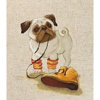 Pug adore la Chaussure  B1122  LUCA-S