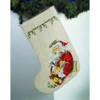 Père Noel et les cadeaux  41-2297  Permin