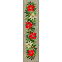 CHEMIN DE TABLE POINSETTIA  23-295  EVA ROSENSTAND