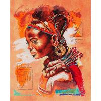 AFRICAN WOMAN  LANARTE  0008009