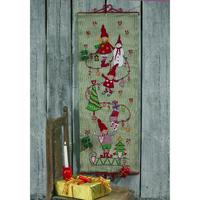 Calendrier de l Avent Elfes aux cadeaux - Permin 34-3267 - Kit Lin